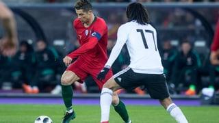 Ronaldo rettet Portugal den Sieg gegen Ägypten