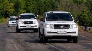 OSZE-Mitarbeiter in der Ukraine beschossen