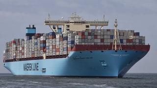 Maersk hat wieder das grösste Containerschiff
