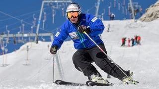 Beat Feuz trainiert wieder auf Schnee