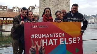 Purtar il hashtag #rumantsch en il mund