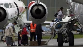 Ein Drittel weniger bezahlte Rückflüge für Asylbewerber