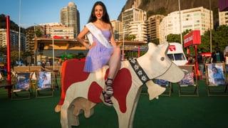 Miss Schweiz Lauriane Sallin: Ganz kuuhl in Rio