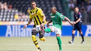 So liefen die Partien YB - St. Gallen und Luzern - Thun