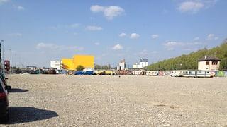 «Holzpark» statt Fussballfelder beim Klybeckhafen