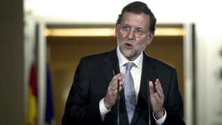 Spanischer Oppositionschef ruft Rajoy zum Rücktritt auf