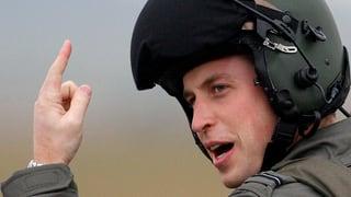Prinz William kehrt zurück an den Steuerknüppel