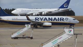 Ryanair fühlt sich durch die deutsche Regierung benachteiligt