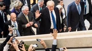 Die Medienjagd auf Präsident Trump