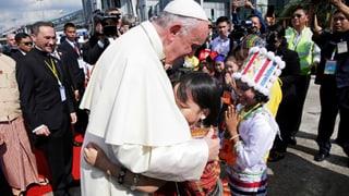 Franziskus als erster Papst in Burma