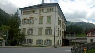 Fundaziun duai spendrar l'hotel Löwe a Mulegns