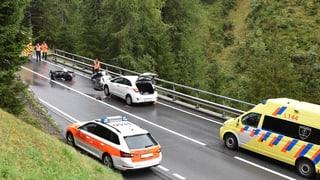 Accident da moto mortal al Flüela