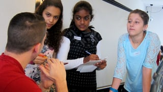 Für die Zukunft: Mädchen lernen Games entwickeln