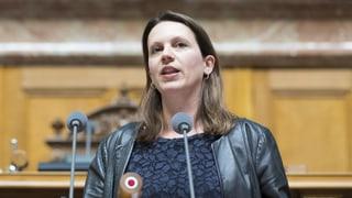 Chantal Galladé: «Ich freue mich auf die Herausforderungen»