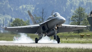Neue Kampfjets ohne Volksentscheid?