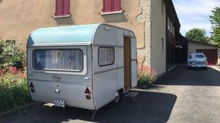 Die Anfänge des Schweizer Campings