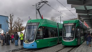 Vandalenakte gegen Tram Nr. 3 im Elsass