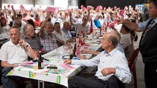 SVP sagt einstimmig Nein zur Rentenreform