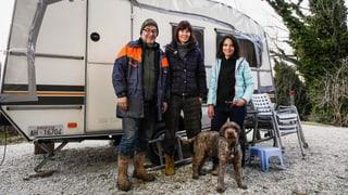 Video «Anja Kinsky und Claude Wegmann in Italien » abspielen