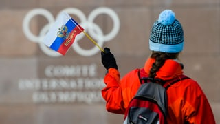 Russlands Athleten an Olympia nur unter neutraler Flagge