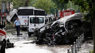 Elf Tote bei Anschlag in Istanbul – vier Verdächtige festgenommen
