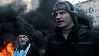 Klitschko erklärt Mahnwache für beendet