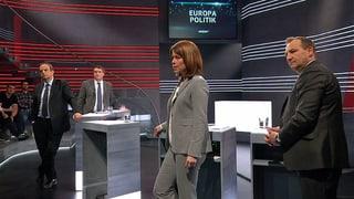 Gibt es neue Chancen in der Europapolitik? Die Parteipräsidenten diskutieren in der «Arena».