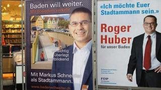 FDP tritt für Stadtamman-Wahl Baden definitiv an