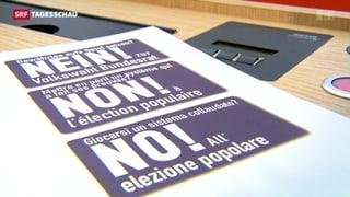 Nein-Komitee warnt vor Dauerwahlkampf im Bundesrat