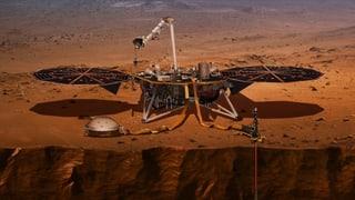Sonde «Insight» zeichnet Marsbeben auf