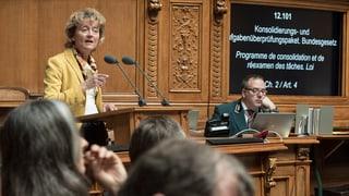 Nationalrat reduziert geplantes Sparpaket KAP