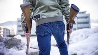 Der Bundesrat will alle Waffen registrieren