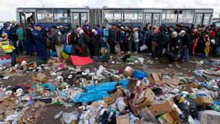 Epidemiegefahr im Flüchtlingscamp