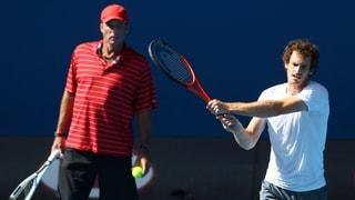 Murray sa separa puspè da Lendl