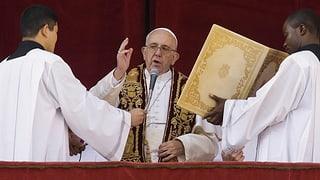 Papst spricht vom nicht so heiligen «Heiligen Land»