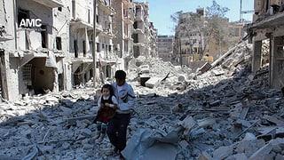 Hoffen und Bangen der Schweiz-Syrer um Aleppo