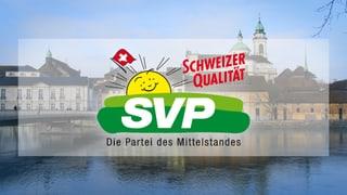 SVP: Gegen den Strom schwimmen