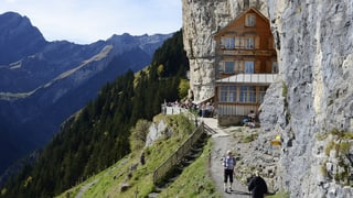 Wirte verlassen Berggasthaus Äscher