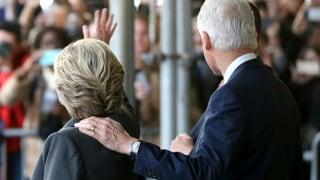 Clintons Abgang von der politischen Bühne