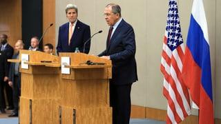 Syrien-Gespräche enden mit «kleinem gemeinsamen Nenner»
