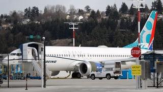 Boeing stoppt die Auslieferung des Typs 737 Max