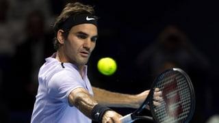Federer kräfteschonend im Viertelfinal