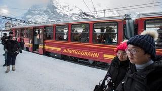 Viafiers Jungfrau: Asiats procuran per fitg bunas cifras