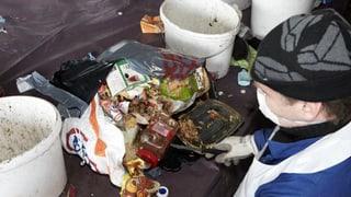 Hier versagen wir Recycling-Weltmeister