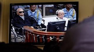 Lebenslang für die letzten Rote-Khmer-Führer