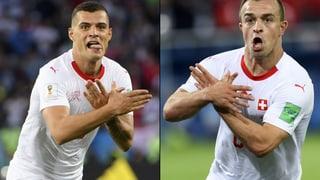 Fifa eröffnet Verfahren gegen Xhaka und Shaqiri