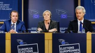 Le Pen sucht Schulterschluss mit anderen Rechtspopulisten