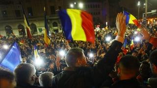 Rumänen wollen mit den korrupten Eliten brechen