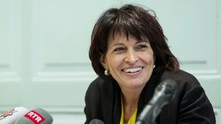 Leuthard kritisiert Einfluss von Lobbyisten