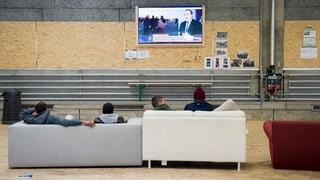 1200 Asylbewerber im Notfall auf dem Waffenplatz Thun